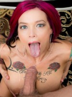 Anna Bell Peaks at Burning Angel